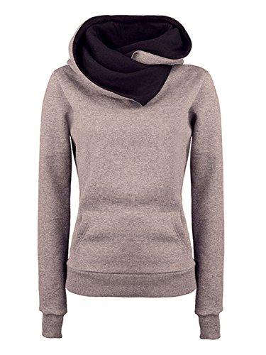 Choies Kangaroo Funnel Sweatshirt Pullover