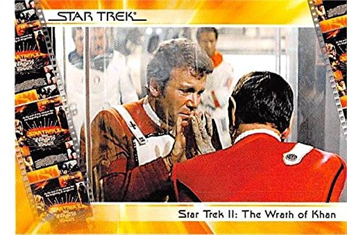 (Spock Kirk trading card Star Trek 2007 #17 Death I have been and always shall be your friend)