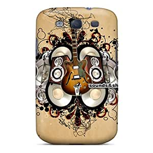 Excellent Galaxy S3 Case Tpu Cover Back Skin Protector Sounds And Shapes