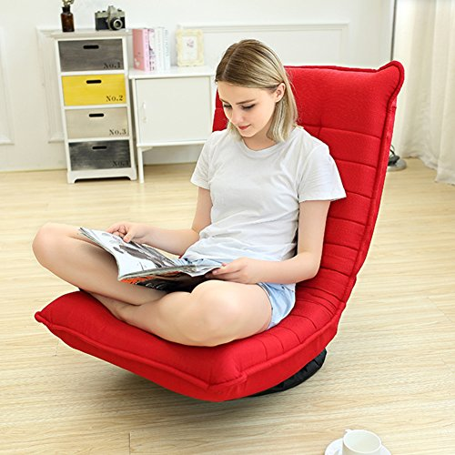 Tatami lazy sofa folding swivel chair removable washable recliner couch-beds-A by Private home textiles (Image #1)