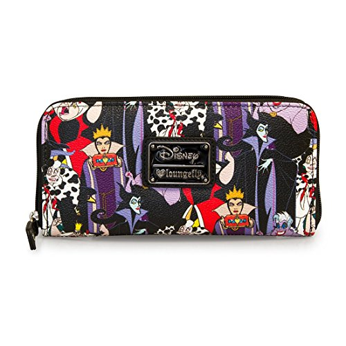 Loungefly Disney Female Villains Evil Queen Maleficent Cruella Ursula (Disney Female Villains)