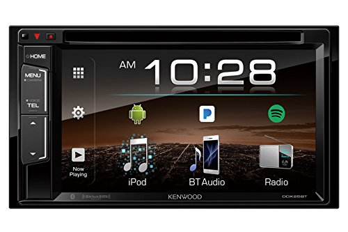 "Kenwood DDX25BT 6.2"" 2-Din in-Dash DVD Monitor Bluetooth Receiver Sirius/MP3/WMA"