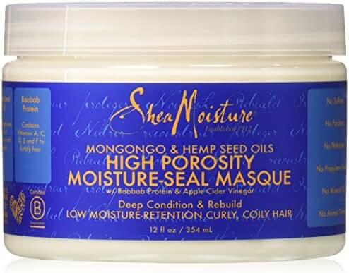 Shea Moisture High Porosity Seal Masque, 12 Ounce