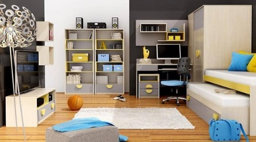kinderzimmer jugendzimmer komplett pik pok 05 7tlg. Black Bedroom Furniture Sets. Home Design Ideas