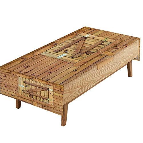 PINAFORE Natural Tablecloth Fermés volets en Bois Table Cloth Dining Room W70 x L104 INCH