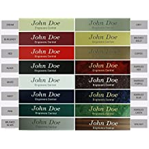 Personalized Name Plate Sign - 2x8 - CUSTOMIZE - Choose Color