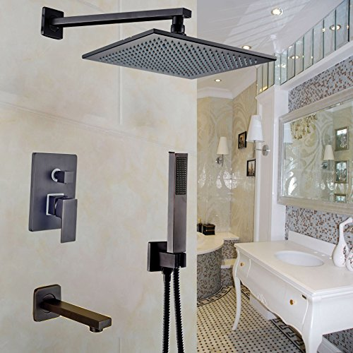 12 inch Rainfall Shower Handheld Mounted product image