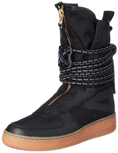 Af1 Black Med Men Gymnastics Blackblackgum s NIKE Hi Sf Brown Shoes Rt0ww