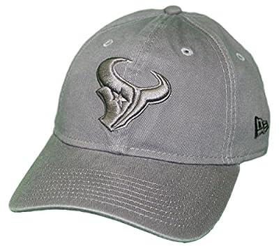 New Era Houston Texans NFL 9Twenty Classic Tonal Adjustable Graphite Hat from New Era