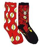Dc Comics The Flash Logo Barry Men's Casual Crew