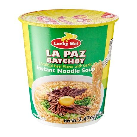 Lucky Me Instant Noodle Soup 2.47 Oz (Pack of 8) (Beef Flavor w/ Garlic)