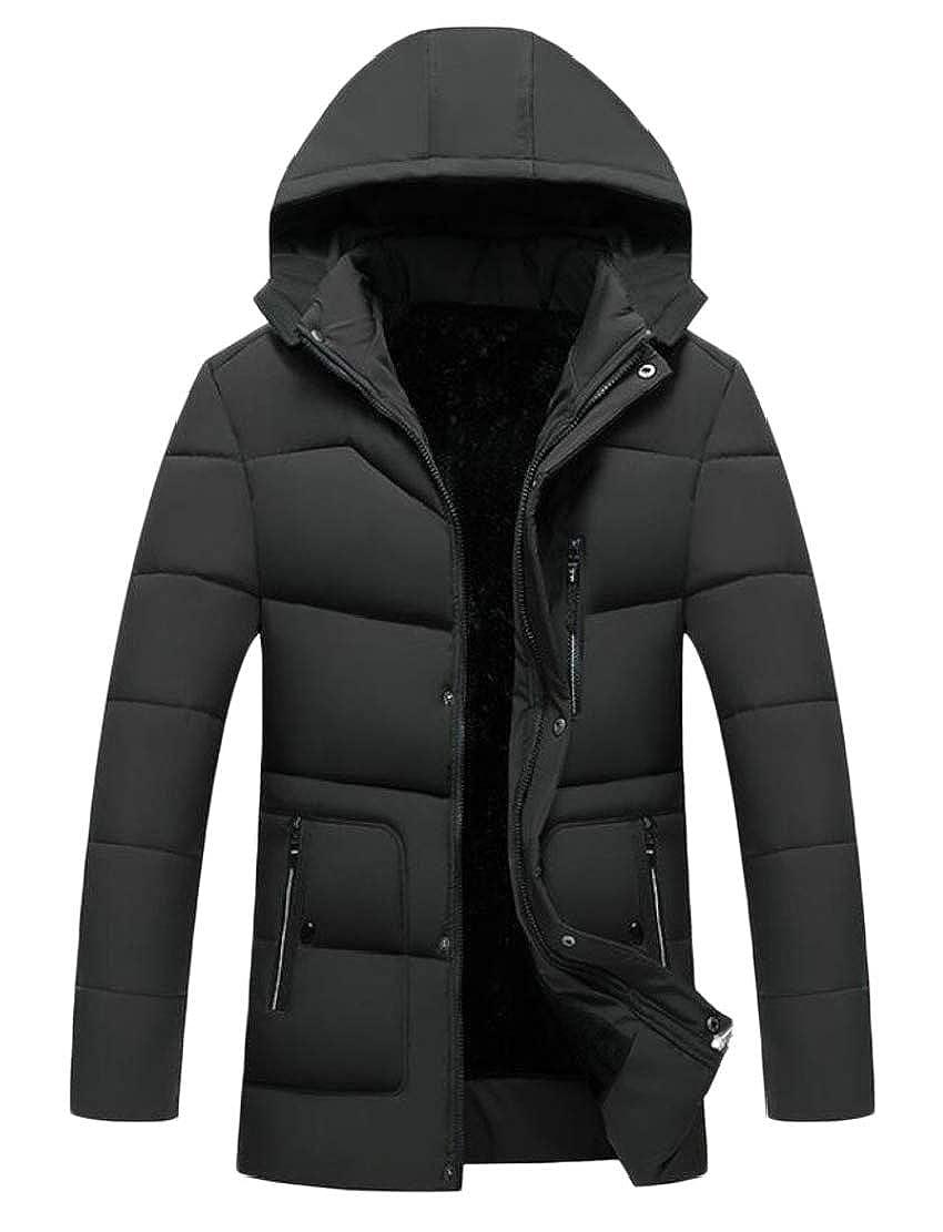 Gocgt Mens Ultralight Puffer Down Coats Packable Hooded Down Jackets