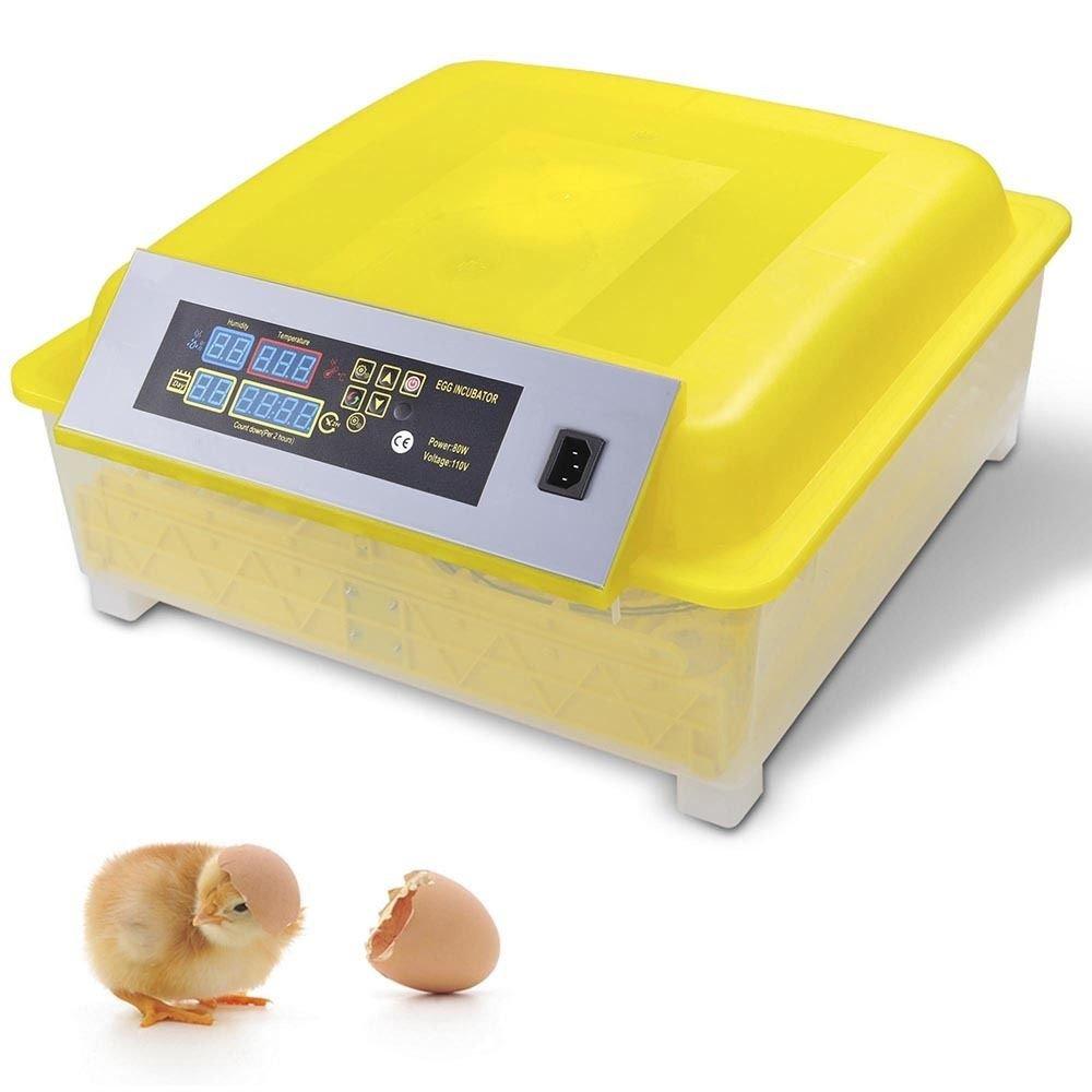 ์New 48Egg Incubator Digital Automatic Turner Hatcher Chicken Egg Temperature Control