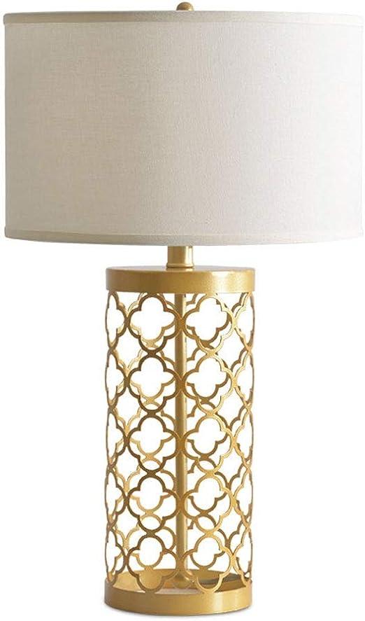 SSN Lámpara de Mesa Decorativa romántica lámpara de mesita de ...