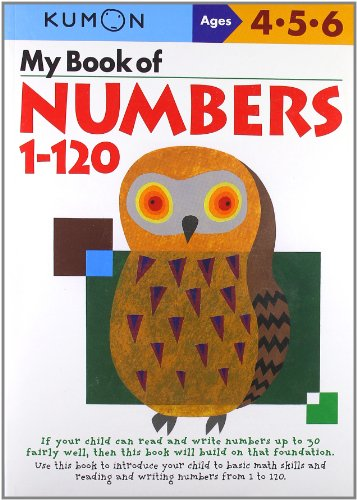 My Book Of Numbers 1-120 (Kumon Workbooks)
