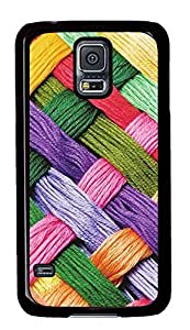 Samsung Galaxy S5 Woolen Art PC Custom Samsung Galaxy S5 Case Cover Black