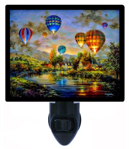 Night Light, Balloon Glow, Hot Air Balloons]()