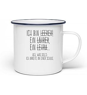 Trinklerntassen & -becher Tassen Emaille Tasse Becher Faultier Spruch Kaffeebecher Die Welt Welt Sein Lassen Eb30
