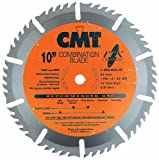 CMT 256.050.10 ITK Industrial Combination Saw Blade, 10-Inch x 50 Teeth 1FTG+4ATB Grindwith 5/8-Inch Bore