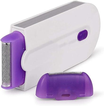 ADAHX Depiladora, inducción láser indolora Azul afeitadora eléctrica láser depilación depiladora, Sensor de Afeitar, para Mujeres,White: Amazon.es: Hogar