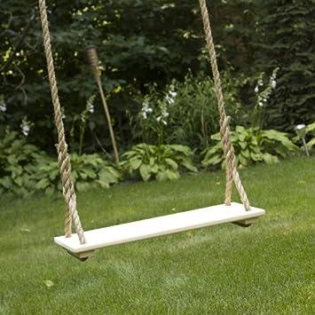 Adult Tree Swing 24 X 9 – Teak Oil