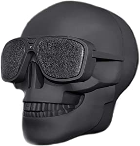 Skull Speaker Portable Bluetooth Speakers 8W Output Bass Stereo for Desktop PC/Laptop/Mobile Phone/MP3/MP4 Player