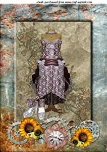 Steampunk Flores Fashion Topper 1by Sharon Poore