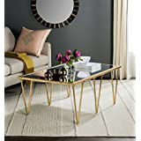 Safavieh Home Collection Arlene Gold Coffee Table