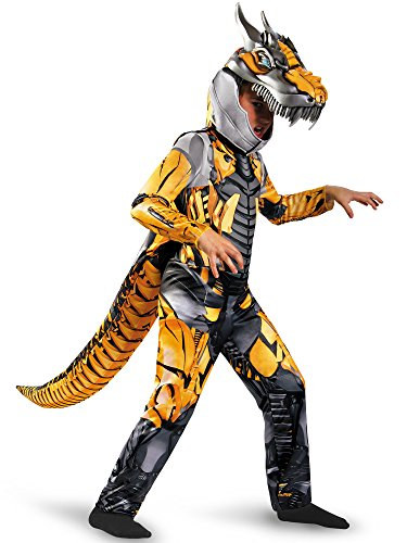 Transformers Age of Extension Grimlock Deluxe Boys Costume, -