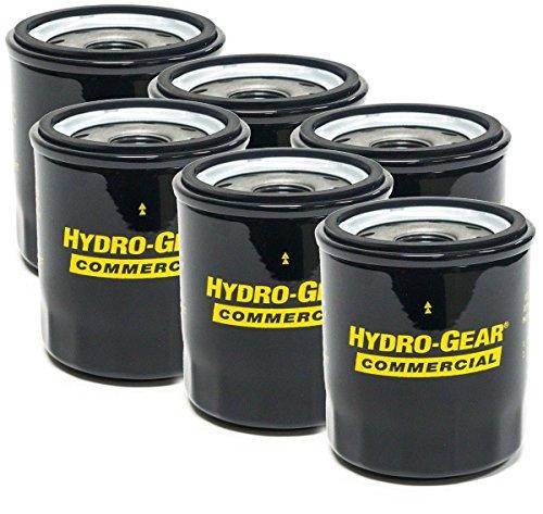 Hydro-Gear 6PK Genuine OEM Hydraulic Oil Filters 52114 Ariens 21545100 Bad  Boy 063-1050-00 Exmark Toro 109-3321 Ferris Snapper 5101026X1 5101026X1SM