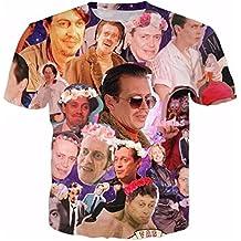 T-shirt 3D Print Steve Buscemi Galaxy Short Sleeves