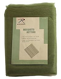 Rothco Mosquito Netting/20Yd Polybag, Olive Drab