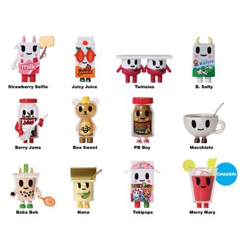 (Tokidoki Moofia Breakfast Friends Mini-Figures 4-Pack )