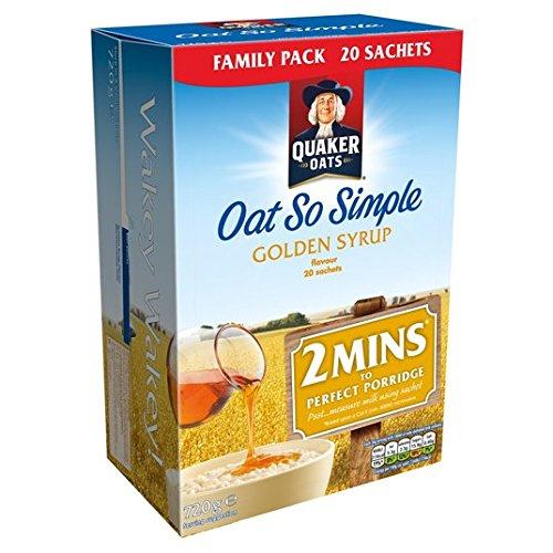 Avena Quaker Así jarabe de oro Family Pack 20 x 36g: Amazon.es: Alimentación y bebidas
