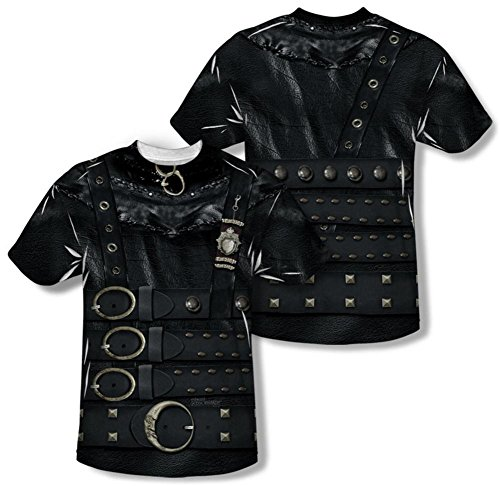 Edward Scissorhands - Edward Costume Tee (Front/Back Print) T-Shirt Size (Edward Scissor Hand Costume)