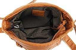 Scarleton Soft Washed Square Style Crossbody Bag H178904 - Brown