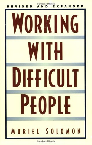 By Muriel Solomon - Working With Difficult People (1st Edition) (12/30/02) ebook