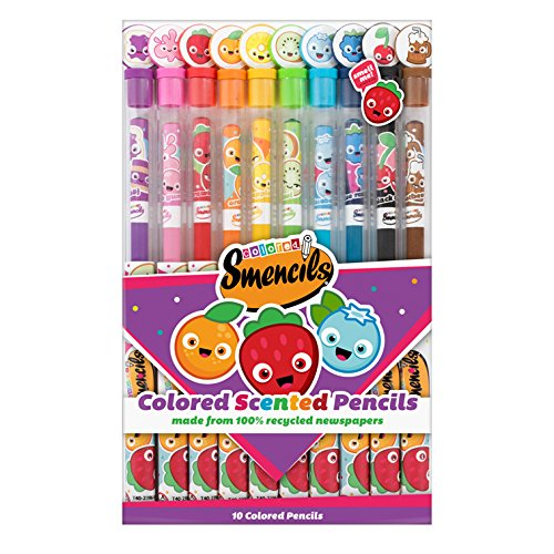 Scentco Colored Smencils 10-pack of Gourmet Scented Color Pencils