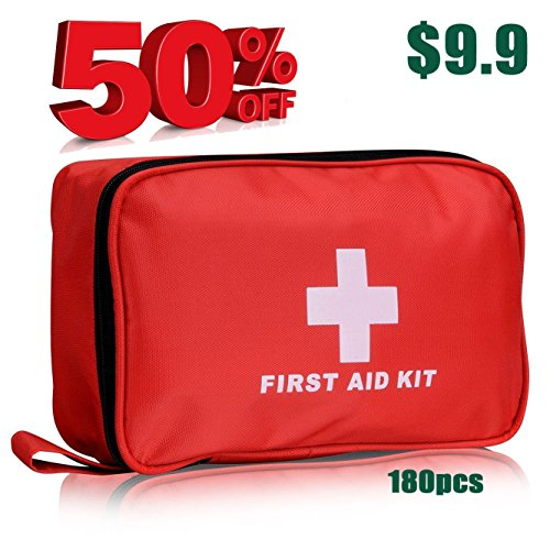 Premium First Aid Kit Bag Emergency and Surviva...