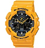 Casio G-Shock – Men's Analogue/Digital Watch with Resin Strap – GA-100A