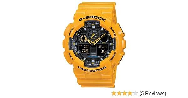 Amazon.com: Casio - Mens Watches - Casio G-Shock - Ref. Ga-100A-9Aer: Casio: Watches