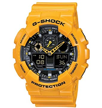 Casio - Mens Watches - Casio G-Shock - Ref. Ga-100A-