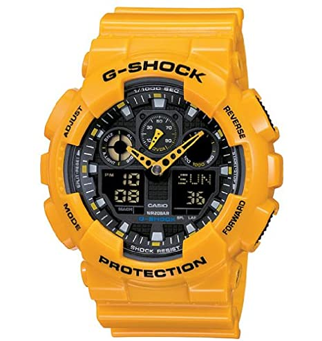 Amazon.com: Casio - Mens Watches - Casio G-Shock - Ref. Ga-100A-9Aer: Casio: Watches