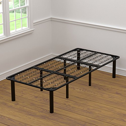 Handy Living 2-in-1 Bed Frame and Box Spring Combination, Extra Long Twin ()