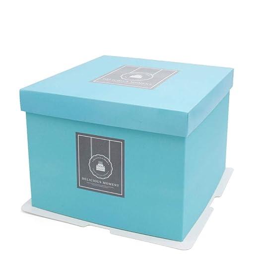 HDaiy Caja De Torta Caja De Torta De Cumpleaños De Bosque ...