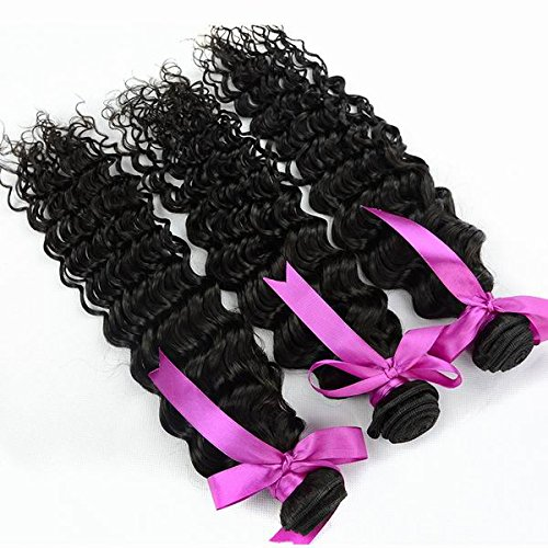 Price comparison product image SINA 3 Bundles 14 14 16 Double Drawn Weft Deep Wave 10A Virgin Peruvian aliexpress Hair Raw Virgin Peruvian Hair