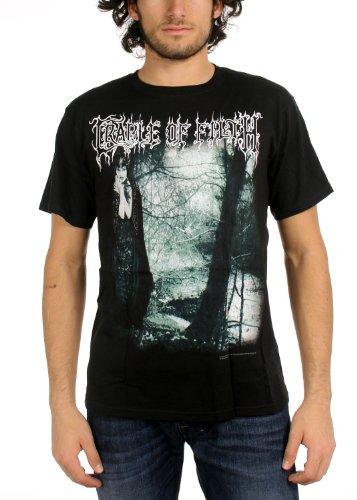Cradle Of Filth - Mens Dusk Is Unveiled T-Shirt In Black, Size: Large, Color: Black