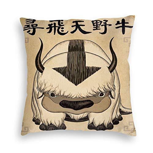 NESTOR VILTAUTAS Ava-Tar The L-AST Air-Ben-der Ap-pa Velvet Soft Decorative Square Throw Pillow Cover Cushion Covers…