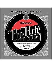 D'Addario SNN-3B Nylon Classical Guitar Strings, Medium