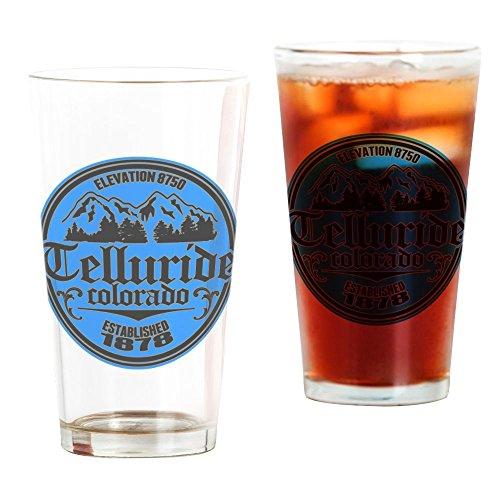 (CafePress Telluride Colorado Pint Glass, 16 oz. Drinking Glass)